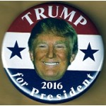 R11D - Trump for President 2016 Campaign Button