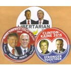 2016 Hopefuls Campaign Buttons (37)