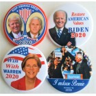 2020 Presidential Hopefuls Buttons (50)