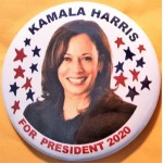 D2020  2A  - Kamala Harris For President 2020  Campaign Button