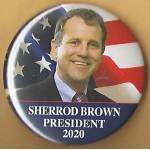 D2020  15B  - Sherrod Brown President 2020  Campaign Button