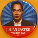 D2020  15C  - Julian Castro President 2020  Campaign Button