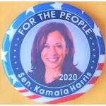 D2020  16B  - For The People Sen. Kamala Harris  2020 Campaign Button
