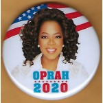 D2020  3B  - Oprah  2020  Campaign Button