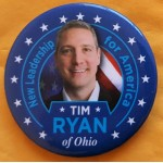 D2020  7B  - New Leadership for America Tim Ryan of Ohio  Campaign Button