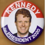 D2020  9A  - Kennedy for President  2020  Campaign Button
