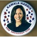 D2020 - 2A  - Kamala Harris For President 2020  Campaign Button