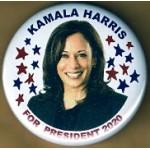 D2020  2A  - Kamala Harris For President 2020  Campaign Button
