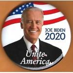 Biden 1D  - Joe Biden 2020  Unite America Campaign Button