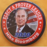 D2020  12B  - A Proven Leader Mike Bloomberg  2020  Campaign Button