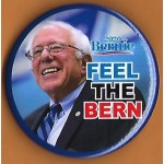 Sanders  7E  - Bernie  2020  Feel The Bern Campaign Button