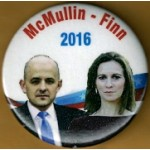 3rd Party 28M - McMullin - Finn  2016 Campaign Button