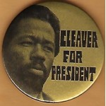 3rd Party 49D - Cleaver For President Campaign Button