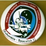 AD 20G -  Columbia Spacelab 1 (Space Shuttle) Button