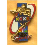 AD 11A - Super Bowl XXXII NBC Sports Lapel Pin