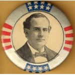 Bryan 6B - (William Jennings Bryan) Campaign Button