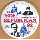 George H.W. Bush Campaign Buttons