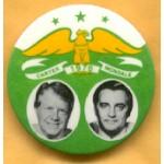 Carter 1C - Carter 1976 Mondale Campaign Button