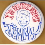 Carter 2L - I'm Nuts About Jimmy Campaign Button