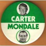 Carter 38E - Carter Mondale Campaign Button