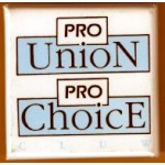 Cause 1G  - Pro Union Pro Choice Cause Button