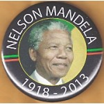 Cause 2N - Nelson Mandela 1918 - 2013 Memorial Button