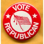 Cause 34A - Vote Republican Campaign Button