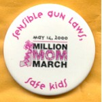Cause 5A - Million Mom March Campaign Button