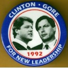 Bill Clinton  Campaign Buttons (76)