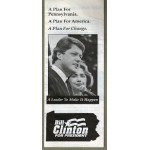 Clinton 24D - Bill Clinton For President (1992 Pennsylvania Primary Paper Flyer)