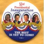 Clinton 66A  - Hillary & Bill Clinton Gore Al & Tipper Campaign Button