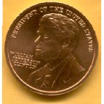 Clinton 75B  - President Of The United States William Jefferson Clinton Coin