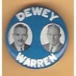 Dewey 5E - Dewey Warren Campaign Button