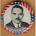 Dewey 7D - For President Thomas E. Dewey Campaign Button
