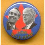 Dole 4E - 1996 Dole - Kemp Campaign Button