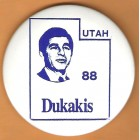 Michael Dukakis Campaign Buttons (29)