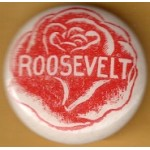 FDR 11B - Roosevelt  Campaign Button