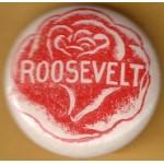 FDR 11B - Roosevelt  Campaign Button