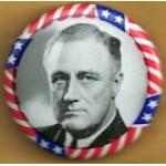 FDR 5E - FDR Campaign Button