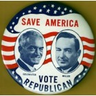 Barry Goldwater Campaign Buttons (4)