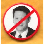 Gore 5C - No Gore Campaign Button