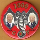 George W. Bush Campaign Buttons (43)