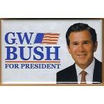 G.W. Bush 7L - G.W.  Bush President Campaign Button