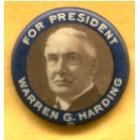 Warren G. Harding Campaign Buttons