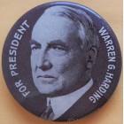 Warren G. Harding Campaign Buttons (5)