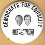 HHH 5P - Democrats For Equality Campaign Button