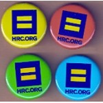 Cause 3IG - HRC.ORG Campaign Button