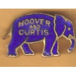 Hoover 7K - Hoover Curtis Lapel Pin