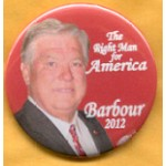 Hopeful 108F - Barbour 2012 Campaign Button