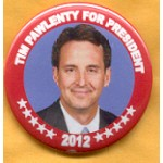Hopeful 45E - Tim Pawlenty For President 2012 Campaign Button